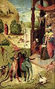 Saint James and the magician Hermogenes. Hieronymus Bosch