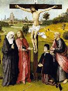 Crucifixion with a Donor Hieronymus Bosch