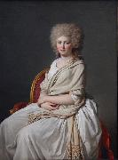 Portrait of Anne-Marie-Louise Thelusson, Countess of Sorcy Jacques-Louis David