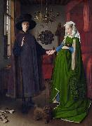 Untitled, known in English as The Arnolfini Portrait, The Arnolfini Wedding, The Arnolfini Marriage, The Arnolfini Double Portrait, or Portrait of Gio Jan Van Eyck
