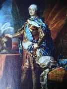 Portrait of Louis XV of France Jean Baptiste van Loo