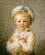 A Boy as Pierrot Jean-Honore Fragonard