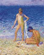 Boys on the Beach Belle lle John Peter Russell