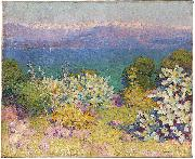 In the morning, Alpes Maritimes from Antibes John Peter Russell