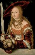 Judith with the head of Holofernes Lucas Cranach