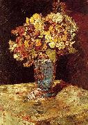 Still Life with Wild and Garden Flowers Monticelli, Adolphe-Joseph