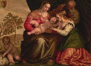 The Mystic Marriage of St. Catherine Paolo Veronese