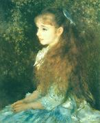Photo of painting Mlle. Irene Cahen d'Anvers. renoir