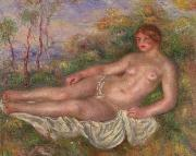 Reclining Woman Bather renoir