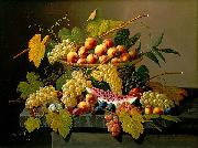Still Life with a Basket of Fruit Severin Roesen