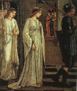 The Princess Sabra Led to the Dragon Painting Date Sir Edward Burne-Jones