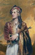 Lord Byron in Albanian dress Thomas Phillips