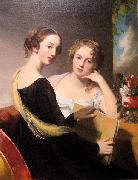 Portrait of the Misses Mary and Emily McEuen Thomas Sully