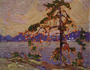 Oil sketch for The Jack Pine Tom Thomson
