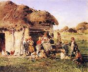 Village Children Vladimir Makovsky