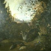 Otter in a Landscape WITHOOS, Mathias