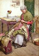 The Old Quilt Walter Langley.RI