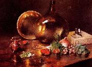 Still Life Brass and Glass Date William Merritt Chase