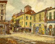 St. Louis and Chartres Streets William Woodward