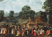 A Fete at Bermondsey or A Marriage Feast at Bermondsey. joris Hoefnagel