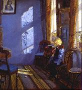 Sunlight in the blue room Anna Ancher
