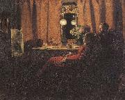 Appraising the Day's Work Anna Ancher
