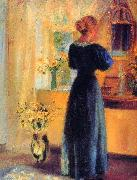 Young Girl in front of Mirror Anna Ancher