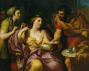 Semiramis Receives News of the Babylonian Revolt by Anton Raphael Mengs. Now in the Neues Schloss, Bayreuth Anton Raphael Mengs