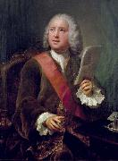 Portrait of Charles Hanbury Williams. Anton Raphael Mengs