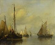 Fishing Boats on Calm Water Antonie Waldorp