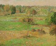 Autumn in Eragny Camille Pissarro