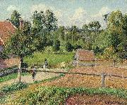 View from the Artist's Window Camille Pissarro