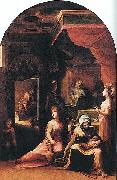 Birth of the Virgin Domenico Beccafumi