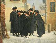 Jews Taking Snuff Emanuel Salomon Friedberg