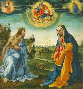 The Intervention of Christ and Mary Filippino Lippi