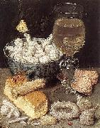 Still-Life with Bread and Confectionary Georg Flegel