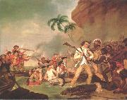 Death of Captain James Cook George Carter
