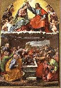 Coronation of the Virgin Giulio Romano
