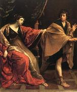 Joseph and Potiphar's Wife Guido Reni