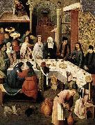 The Marriage at Cana Hieronymus Bosch