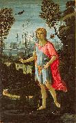 Saint John the Baptist Jacopo del Sellaio JACOPO del SELLAIO