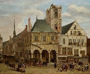 The old town hall Jacob van der Ulft