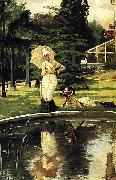 In an English Garden James Joseph Jacques Tissot