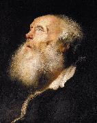 Study of an Old Man Jan lievens