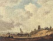 Seashore at Scheveningen Jan van Goyen