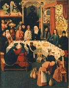 The Marriage Feast at Cana. Jheronimus Bosch