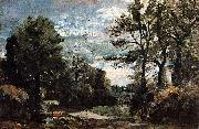 A Lane near Flatford John Constable