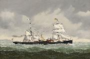 The Belgian steamer Amelie bound for Spain John Henry Mohrmann