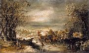 Winter Landscape with The Flight into Egypt Joos de Momper
