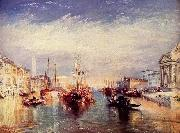 Canal Grande in Venedig William Turner